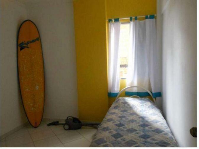 quadra da praia = reformado = vaga de garagem - ap1101