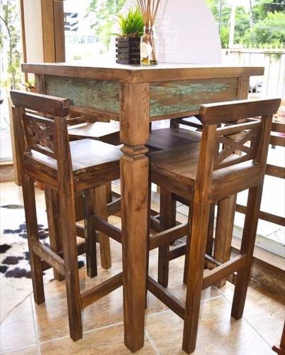 quadrada madeira mesa