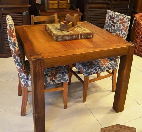 quadrada madeira mesa jantar