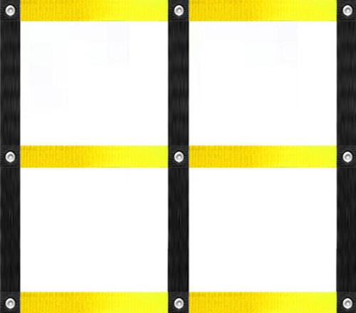 quadrado 90x90cm coordenação motora agilidade pliometria