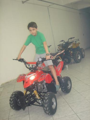 quadriciclo 110cc bz moskiti aro 7 automático à gasolina