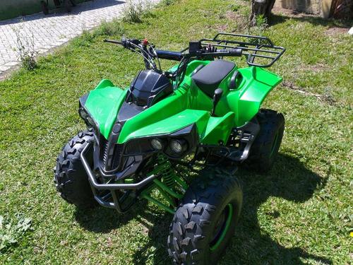 quadriciclo 125cc com ré - aro 8