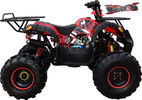 quadriciclo 125cc enjoy automático vermelho