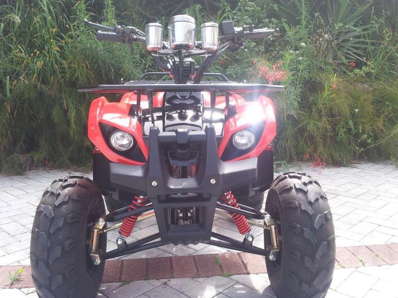 quadriciclo 125cc novo 0km - aut - promoção à vista!!!