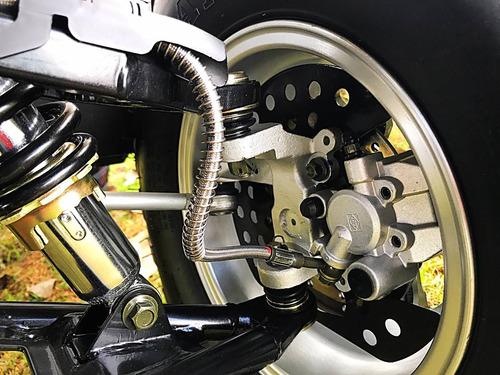 quadriciclo 200cc brutus automático cambio cvt