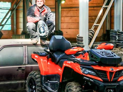 quadriciclo 4x4 cforce 850xc gasolina automático