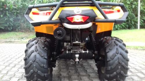 quadriciclo atv brp cam am outlander max 400 4x4