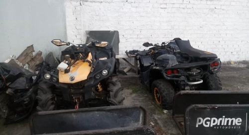 quadriciclo atv can am gorilla 1000 - sucata venda de peças