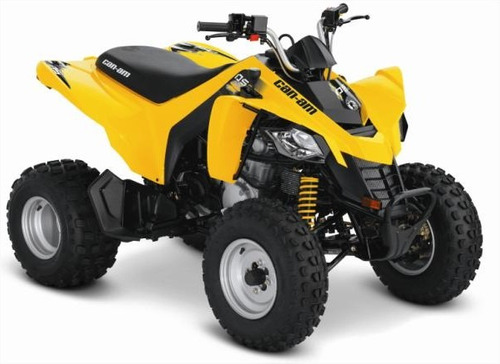 quadriciclo brp can-am ds 250 - novo