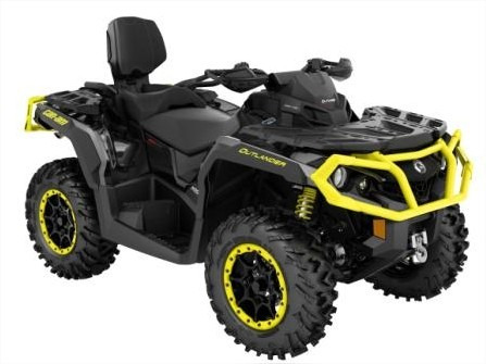 quadriciclo brp can-am outlander 1000 max xtp - novo