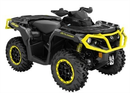 quadriciclo brp can-am outlander 1000 xtp - novo