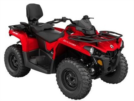 quadriciclo brp can-am outlander 570 max - novo
