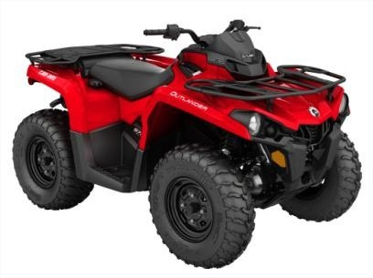 quadriciclo brp can-am outlander 570 - novo