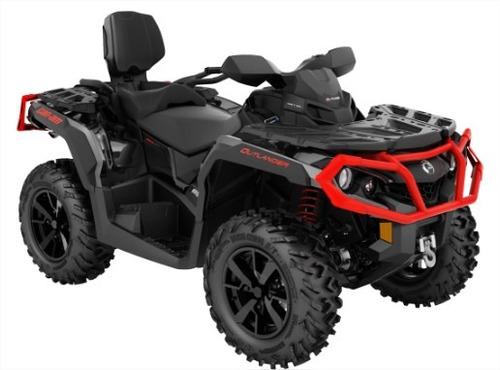 quadriciclo brp can-am outlander 650 max xt - novo