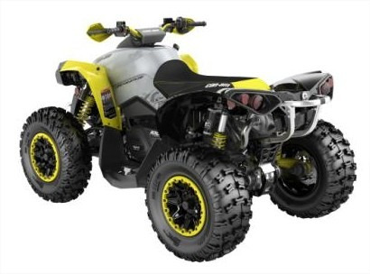 quadriciclo brp can-am renegade x xc - novo
