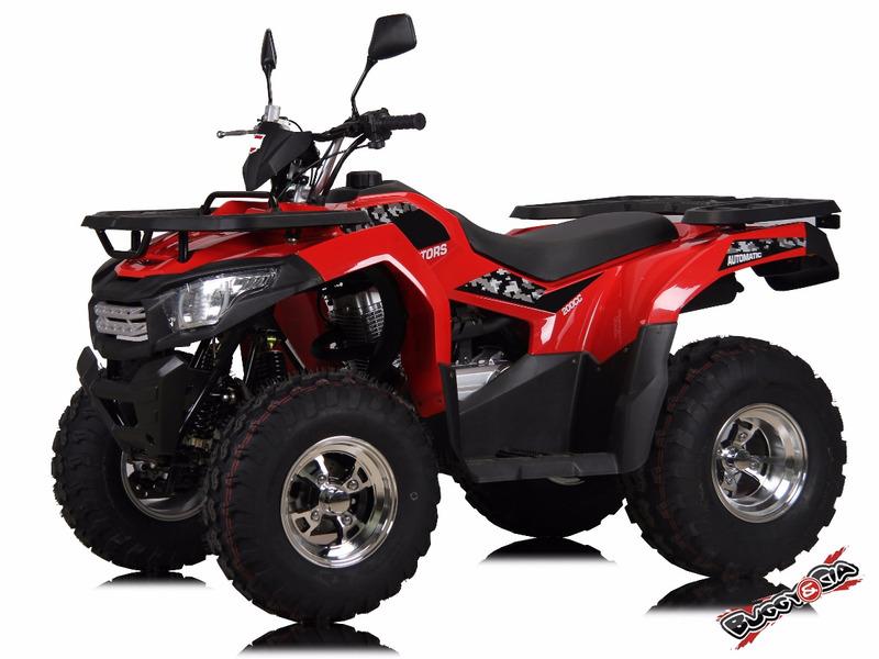 quadriciclo brutus 200cc utilitário 4x2