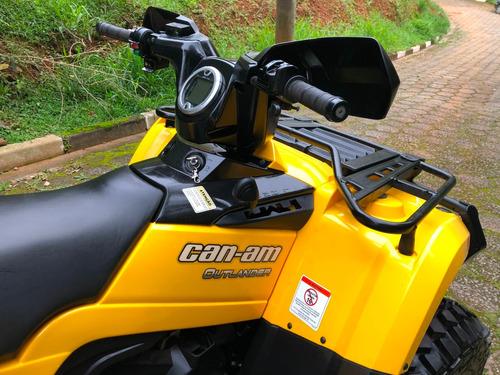 quadriciclo can am 400 max xt automático 4x4 ( 2 pessoas )