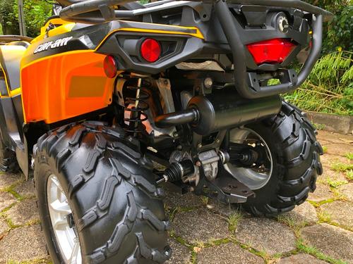 quadriciclo can am 500 max ( direção elétrica )