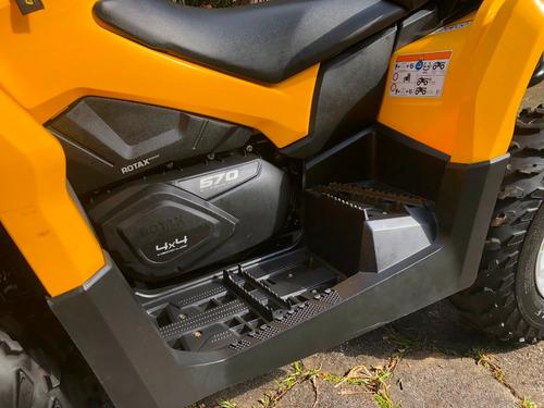 quadriciclo can am 570 max 4x4 automático (direção elétrica)