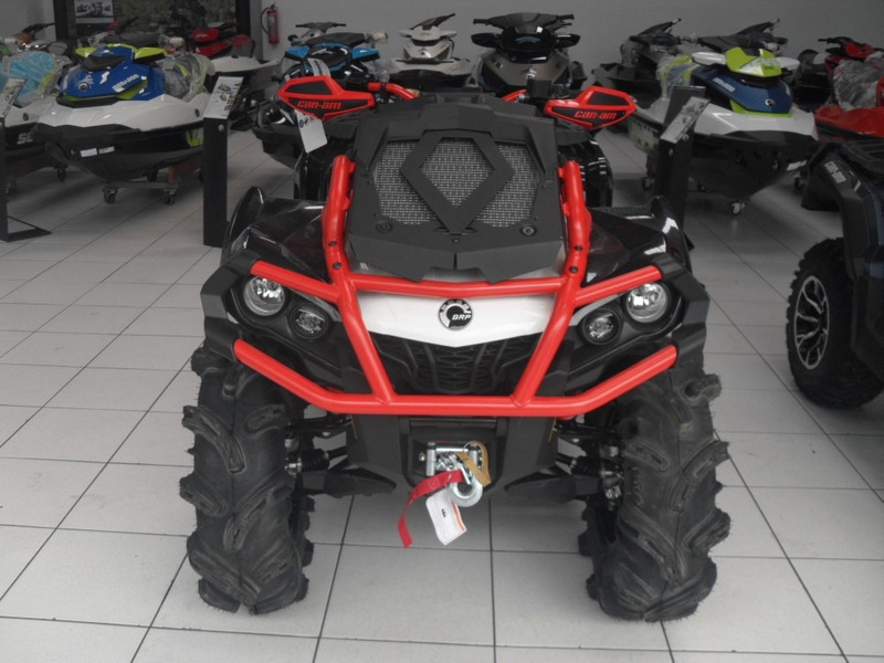 quadriciclo can-am outlander 1000 xmr 2017 ok