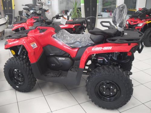 quadriciclo can-am outlander 570 max 2019 ok 10x s/juros