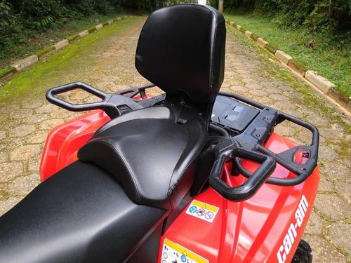 quadriciclo can am outlander  570 max  ( automático )