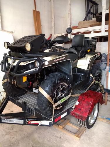 quadriciclo can-am outlander max xt-p 1000 4x4