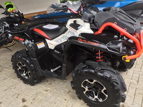 quadriciclo can am xmr 570 direçao eletrica