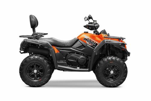 quadriciclo cf moto cforce 600 eps, direção elétrica, 4x4