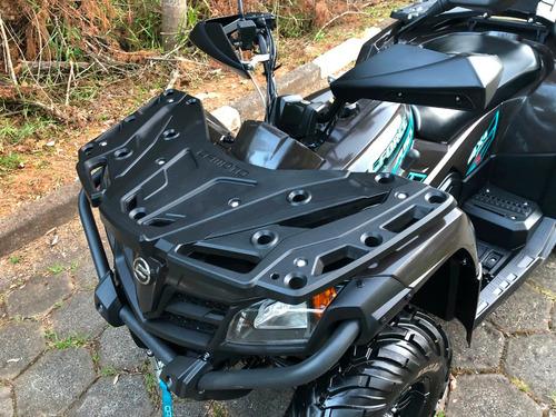 quadriciclo cf motors 4x4 450l ( completo ) 09 horas de uso