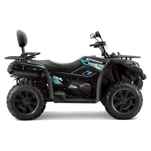 quadriciclo cforce 450l 4x4 / painel digital / guincho aro