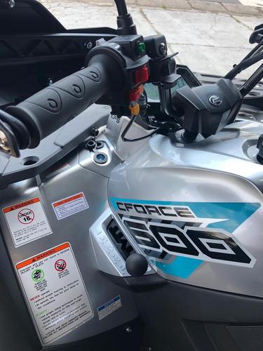 quadriciclo cforce 600 eps 4x4 automático laranja