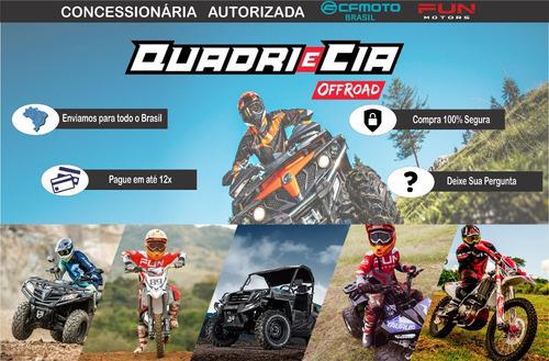 quadriciclo cforce 850xc automático 4 x 4 quadri e cia