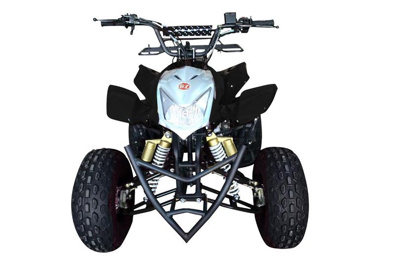 quadriciclo com ré e bagageiro 125cc automático bz xtreme