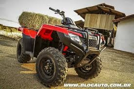 quadriciclo fourtrax 4x4 o km