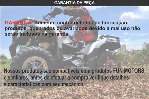 quadriciclo fun motors farmer 200cc 4x2 quadri e cia off