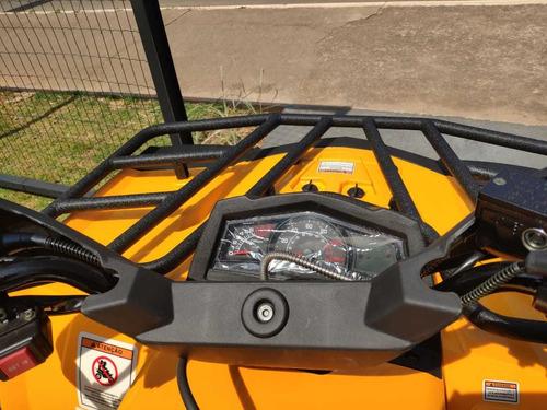 quadriciclo hisun forge 250