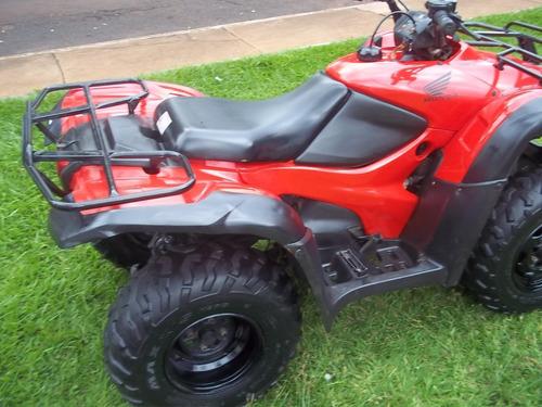 quadriciclo honda fourtrax 2011 faço entrega