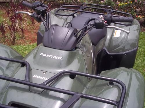 quadriciclo honda fourtrax 2012 4x2 faço entrega
