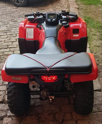quadriciclo honda fourtrax 420trx / 4x4 - 2018