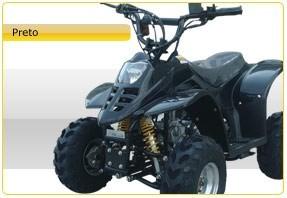 quadriciclo infantil 110cc barzi motors bz flash