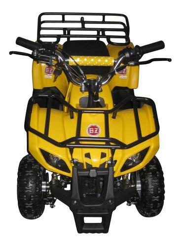 quadriciclo infantil 49cc à gasolina partida elétrica bz rex
