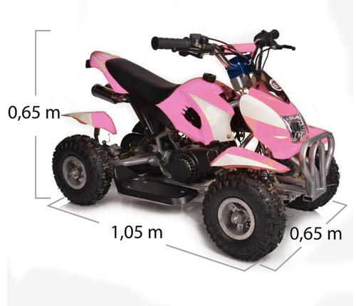 quadriciclo infantil com partida elétrica 50cc