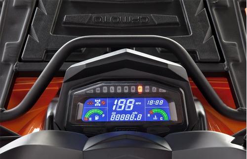 quadriciclo limited 800 4x4 automático laranj painel digital