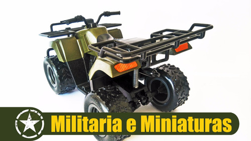 quadriciclo militar 1/6(bonecos de 30cm ) - power team elite