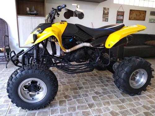 quadriciclo monster 350cc completo p/2 pessoas c/ acessórios