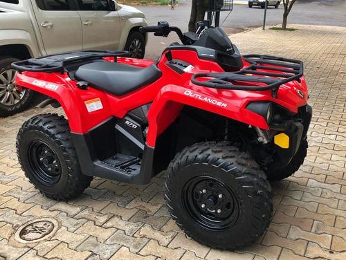 quadriciclo semi novo can am 570 2017 automático