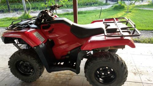 quadriciclo trx 420 4x4