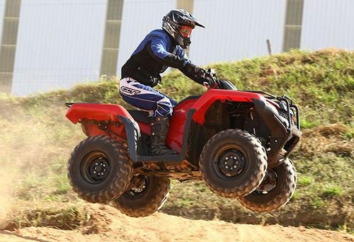 quadriciclo trx420 zero km-honda
