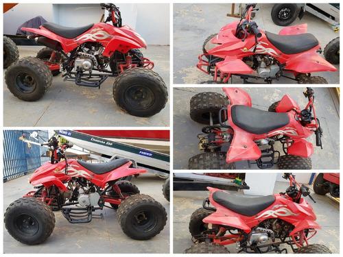 quadriciclo x terrain 110cc ano 2010